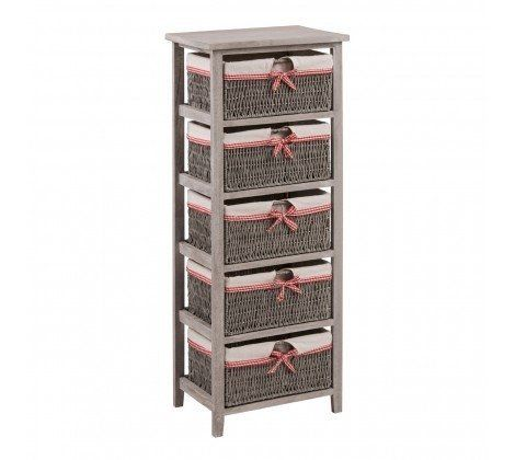 5 Woven Basket Cotswold Drawer Chest