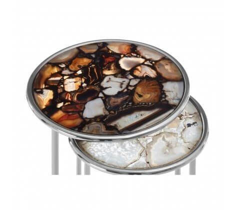Agate Nest of Tables