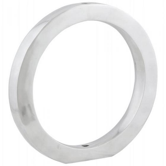 Alu Retro Round Ornament