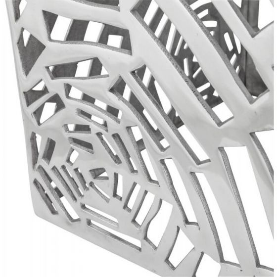Aluminium Cut Out Design Small Table