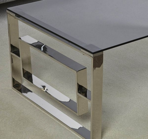 Apex Stainless Steel Side Table