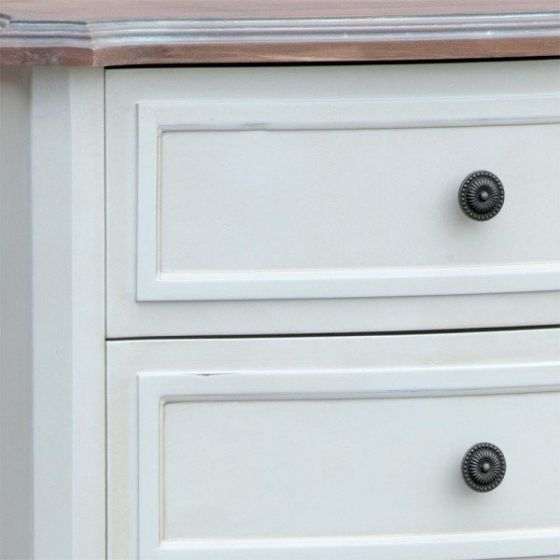 Appleby Shabby White Chest Of Drawers