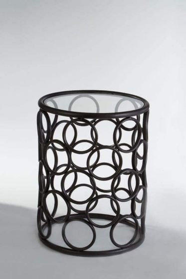 Arouna Metal Bubble Design Side Table