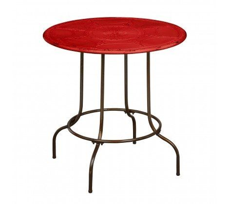 Artisan Round Table - Red
