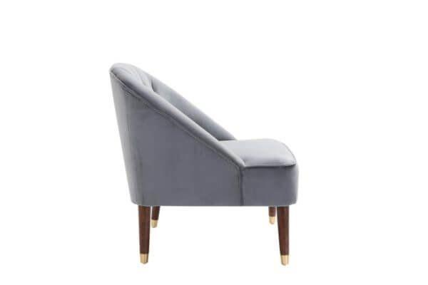 Aurelia Chair in Green, Grey or Mustard