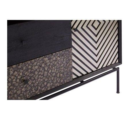 Bovo Mango Wood 2 Door 2 Drawer Sideboard