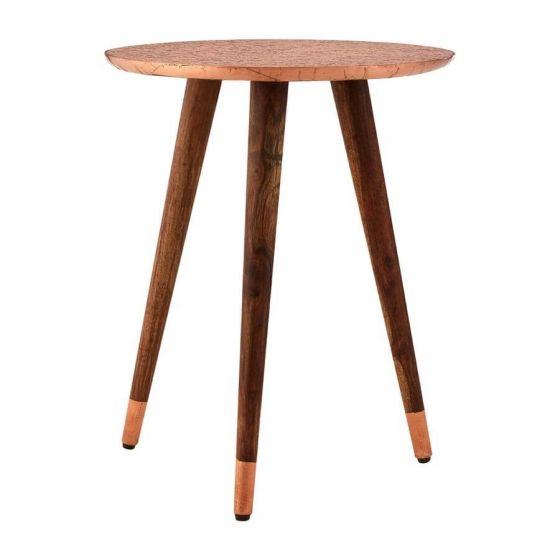 BoVo Mango Wood Side Table