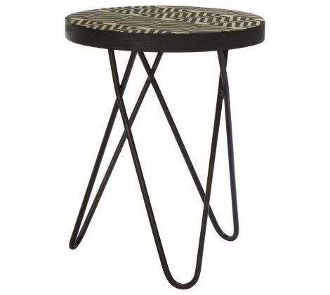 Bovo Metal Side Table