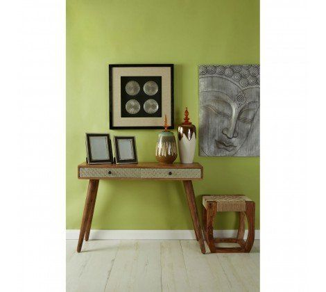 BoVo Mango Wood Console Table