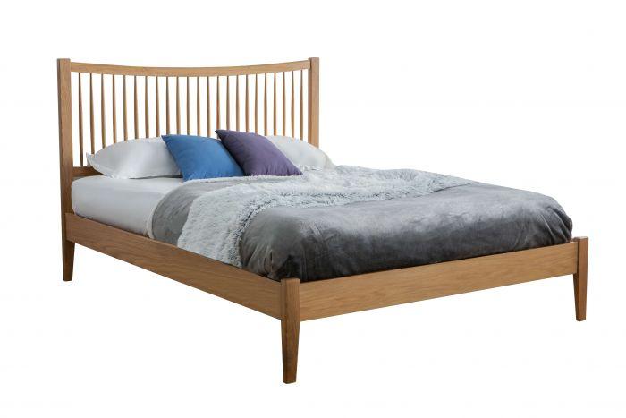 Brendan King Size Solid Oak Bed Frame