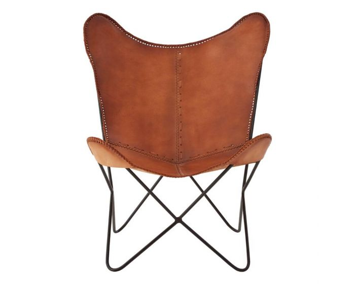 Buffalo Leather Chair