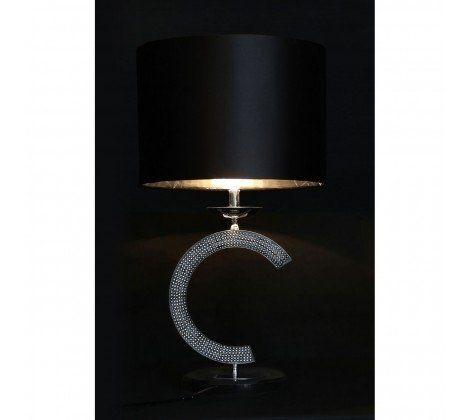 C Marble Base Table Lamp