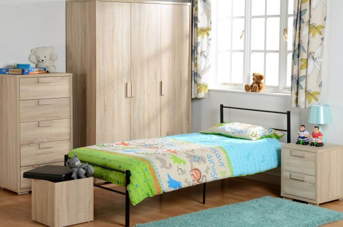 Cambourne Oak Effect Veneer Bedroom Set
