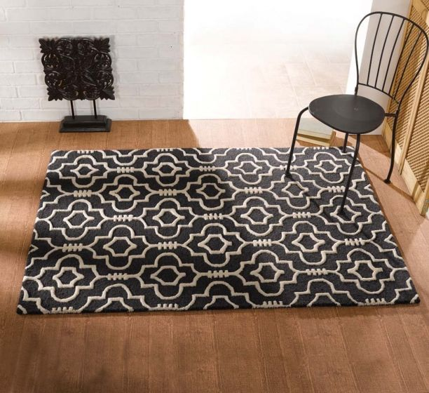 Charcoal Morocco Rugs