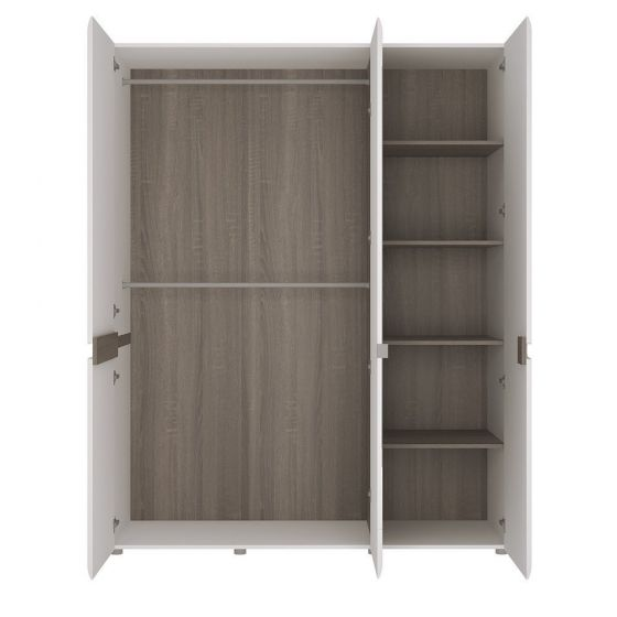 Chelsea 3 Door Wardrobe With Mirror