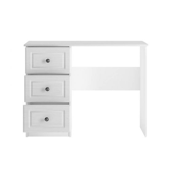 Cheshire White 3 Drawer Dressing Table