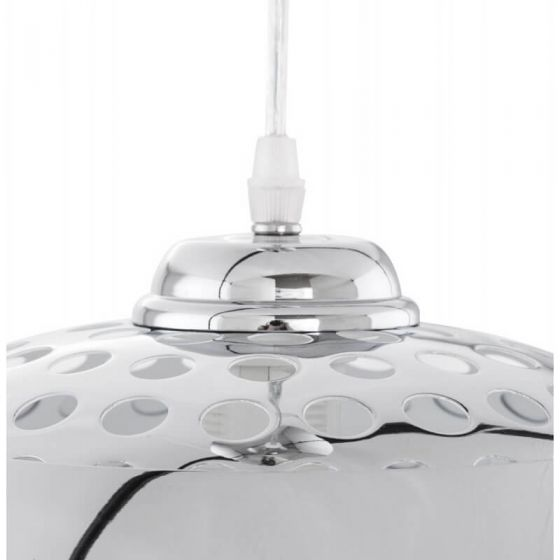 Theo Chrome Dome Spotlight Ceiling Light
