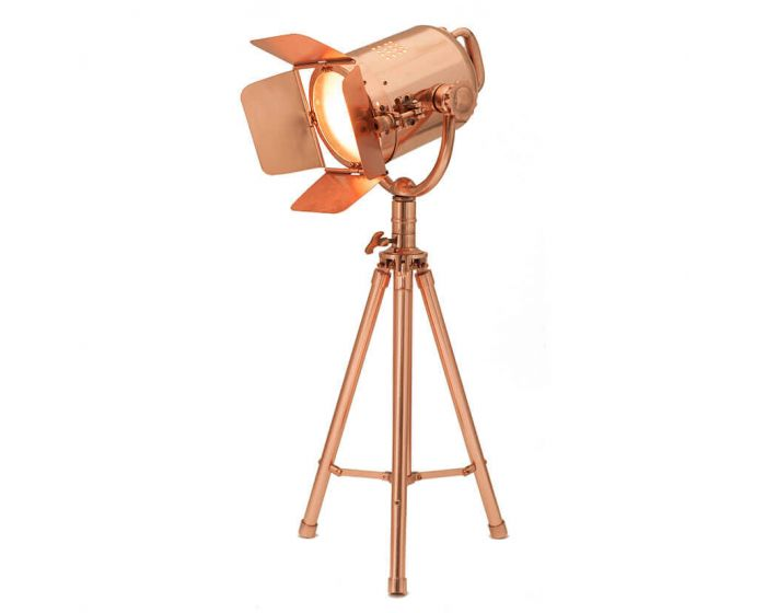 Copper Film Style Table Lamp
