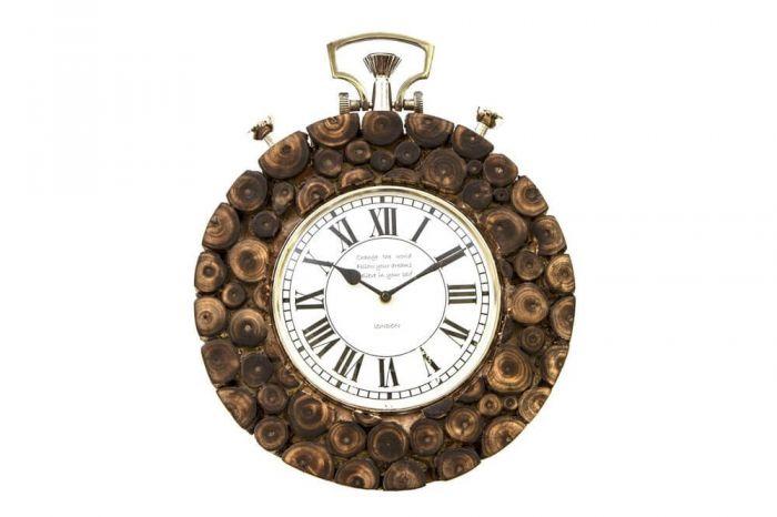 Cork Style Wall Clock
