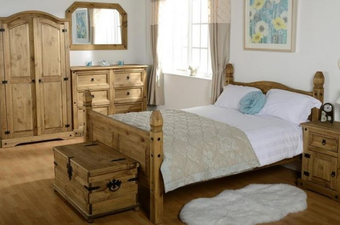 Corona King Size High End Bedstead