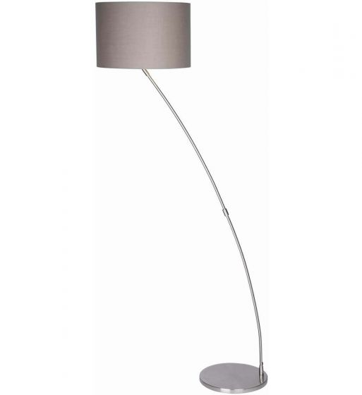 Cristina Curved Chrome Floor Lamp