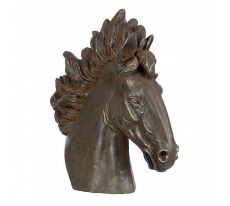 Dakota Compliments Horses Head