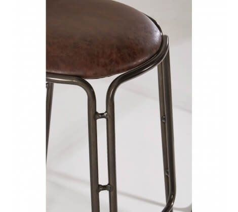 Dalton Black Metal Bar Stool