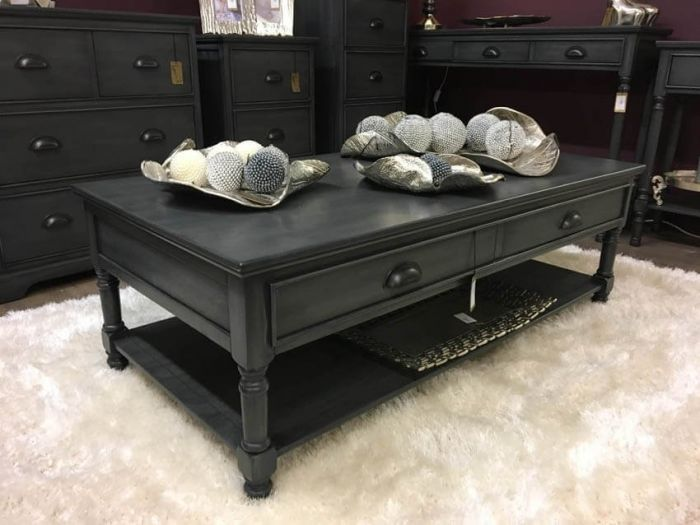 Charlie Grey Coffee Table