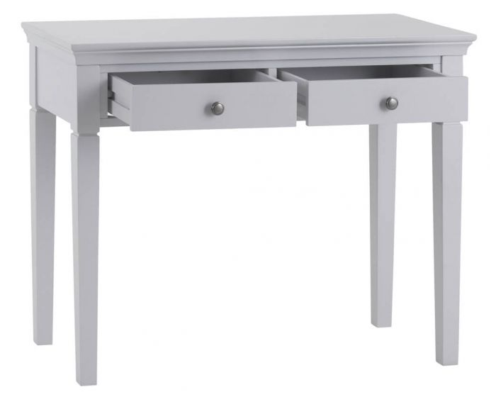 Edelmar Pine Grey 2 Drawer Dressing Table