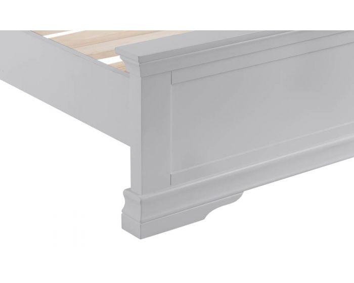 Edelmar Pine Grey Bed Frame