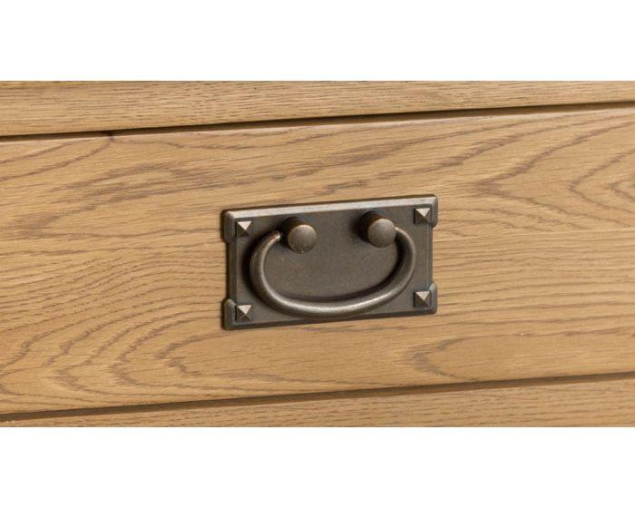 Eden Oak 2 Drawer Console Table
