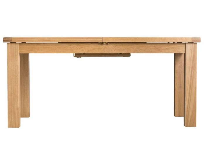 Eden Oak Butterfly Extending Dining Table