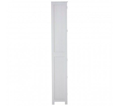 Floor Standing Tall Cabinet In White