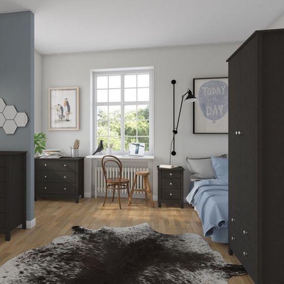 Florence 2 Door 2 Drawer Wardrobe