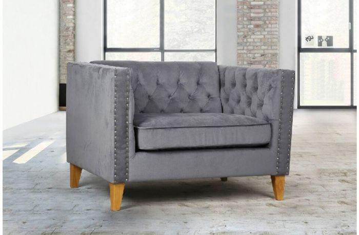 Florence Snuggle Velvet Chair & Sofa