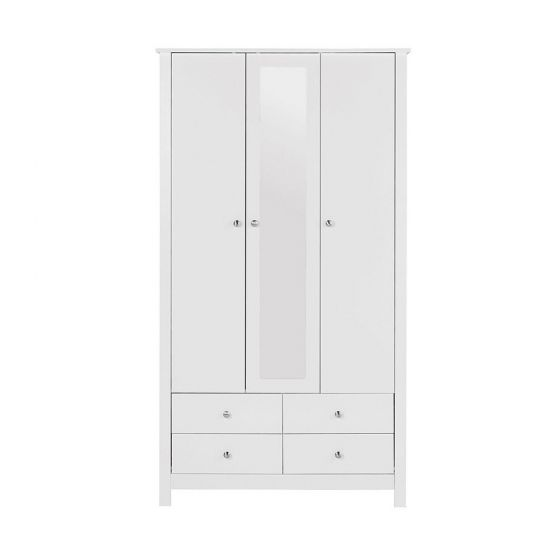 Florence 3 Door 4 Drawer Wardrobe
