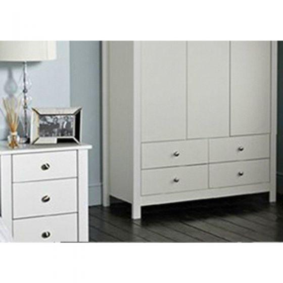 Florence 3 Drawer Bedside Cabinet