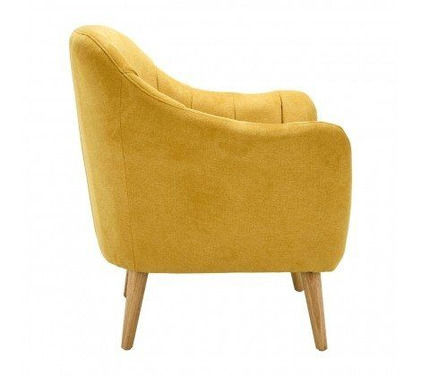 Gottenburg Yellow Armchair