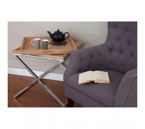 Grey Mayfair Linen Armchair