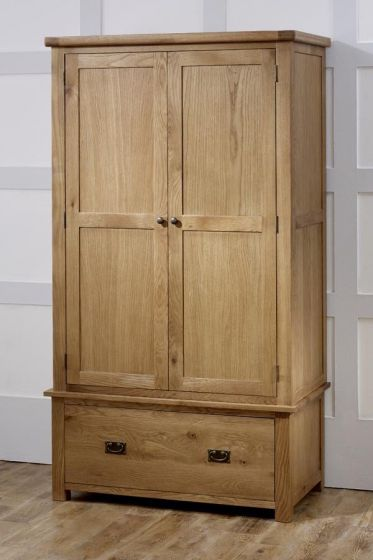 Guarlford 2 Door 1 Drawer Wardrobe