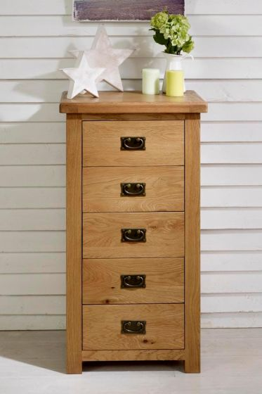 Guarlford Narrow 5 Drawer Chest of Drawers