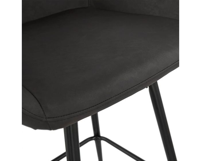 Gustav Grey Large Bar Armchair