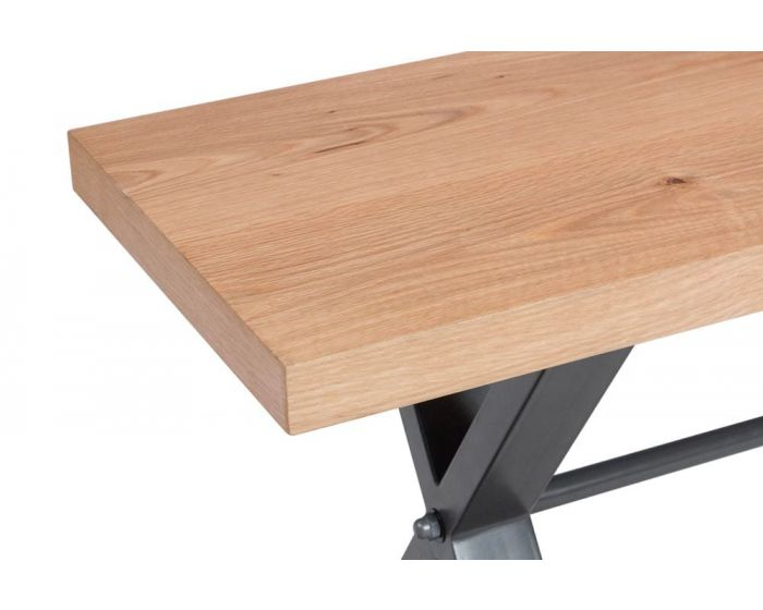 Iestyn Dining Table With Bench