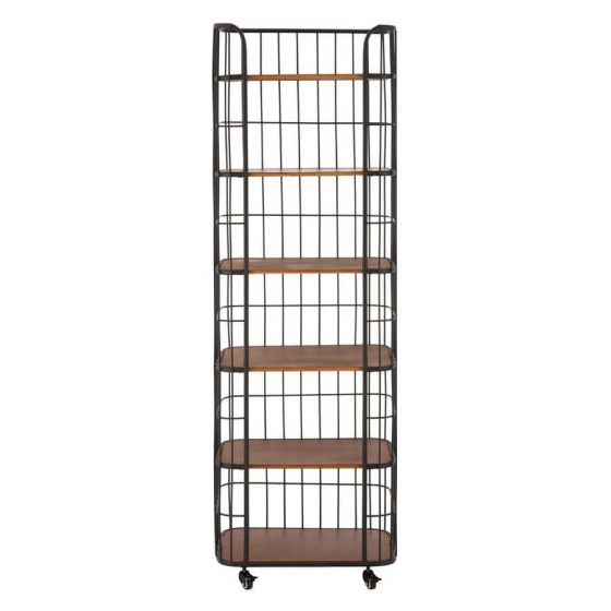 Industrial Foundry 6 Tier Shelf Unit on Wheels
