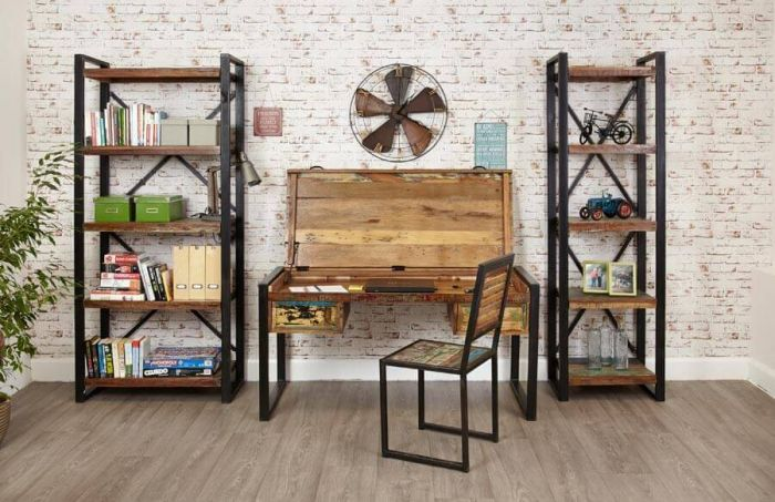 Industrial Reclaimed Desk
