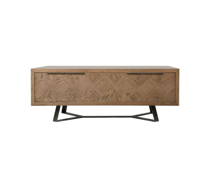 Irina Aged Grey Coffee table