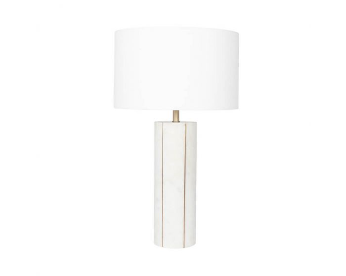 Jenson Marble and Gold Table Lamp