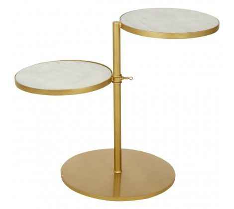 Karolina 2 Shelves Side Table