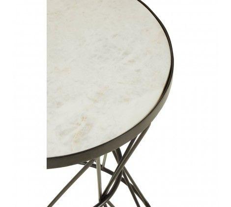 Karolina Corset Base Side Table