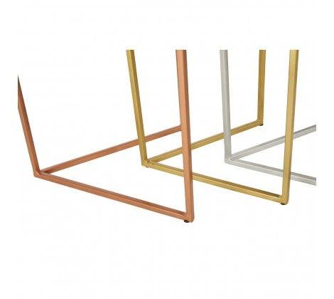 Karolina Nest Of 3 Hexagonal Side Table